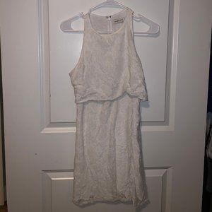 Abercrombie and Fitch Simple White Dress
